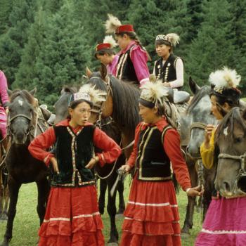 Kazakh Women