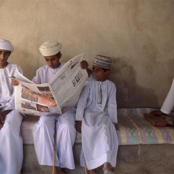 Oman children