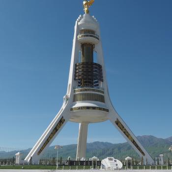 Monument Arch of Neutrality, Ashgabat