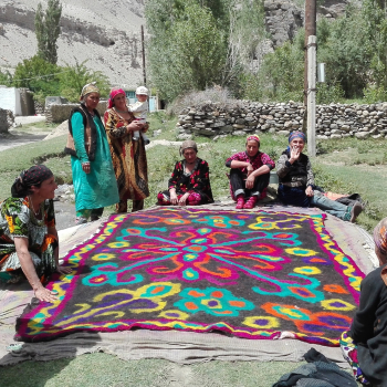 Pamiri women in the Wakhan valley